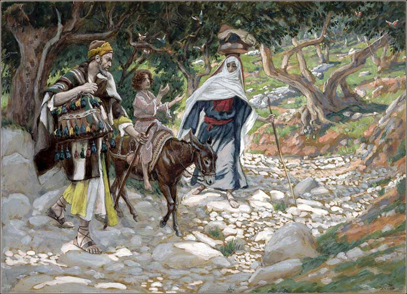 <i>The Return from Egypt</i> by James Tissot, ca. 1890