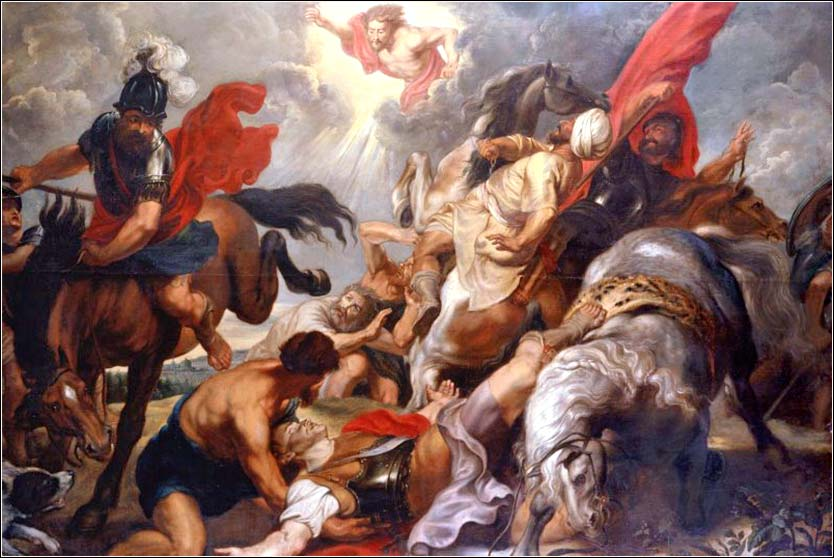 <i>The Conversion of Saint Paul</i> by Peter Paul Rubens, ca. 1601.