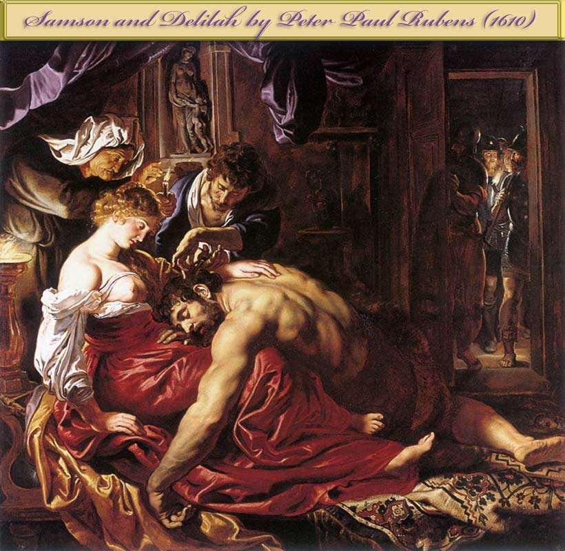 Samson and Delilah by Rubens