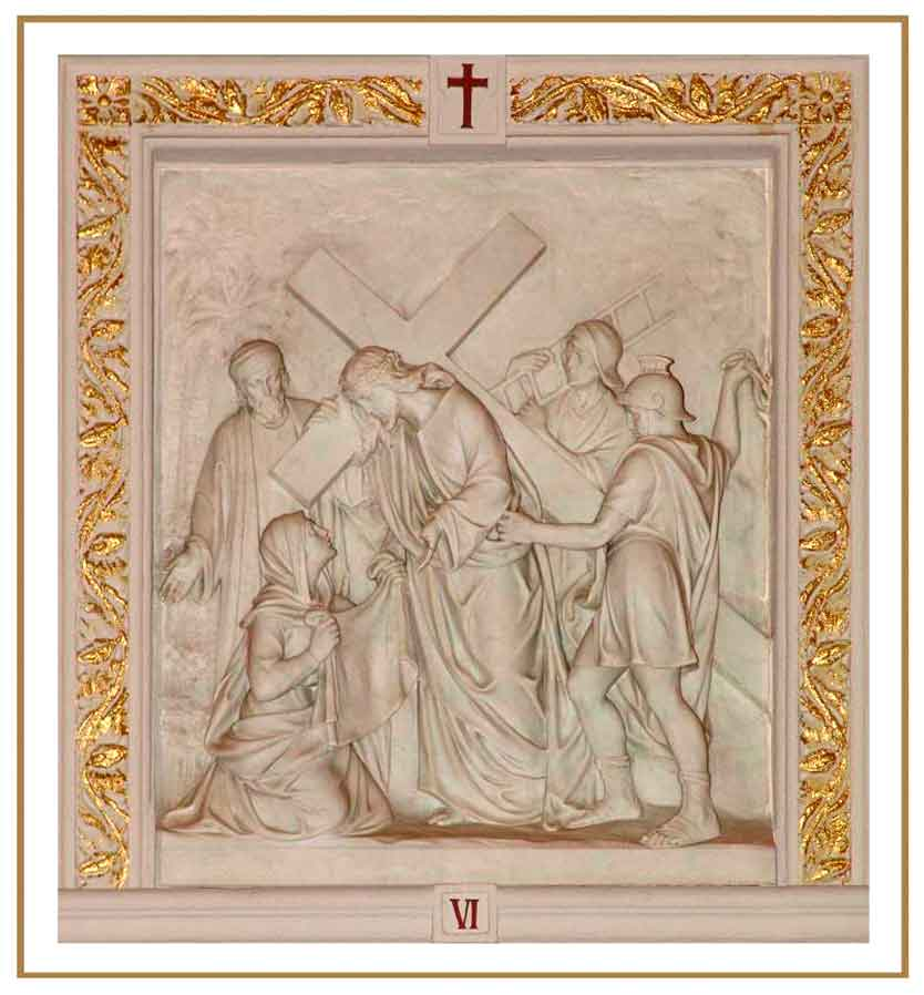 <i>Sixth Station of the Cross</i>, Chapel of The Dominican Sisters of Hope, Newburgh, New York