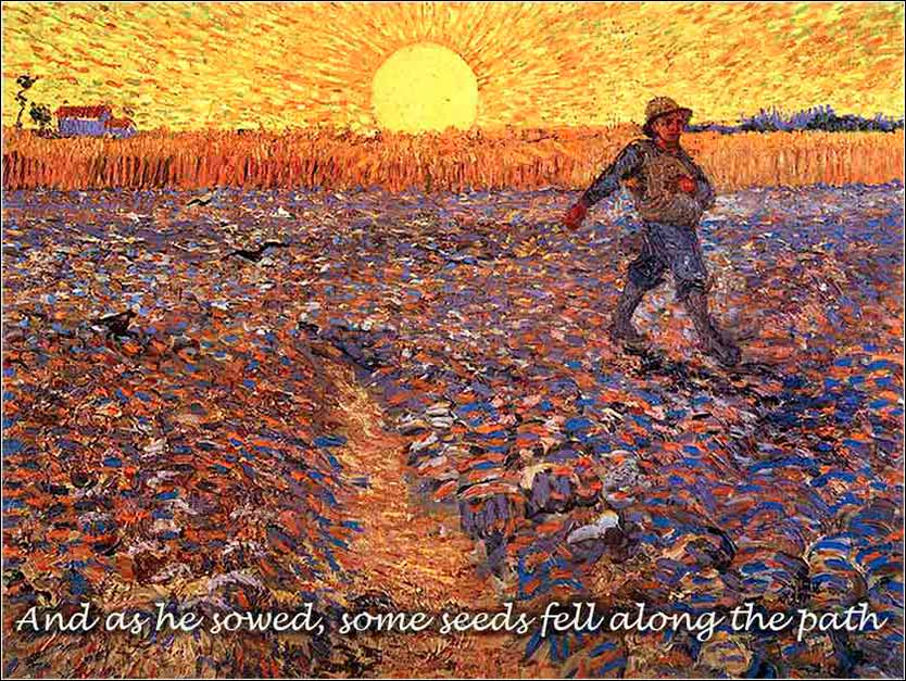 <i>The Sower</i> by Vincent van Gogh, ca. 1888.