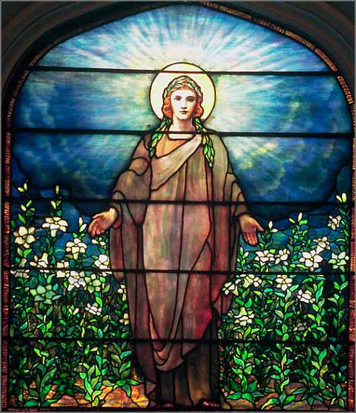 <i>Charity</i>, Tiffany Studios ca. 1906