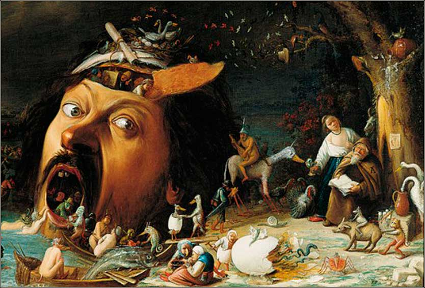 <i>The Temptation of St. Anthony</i> by Joos von Craesbeeck, ca. 1650.