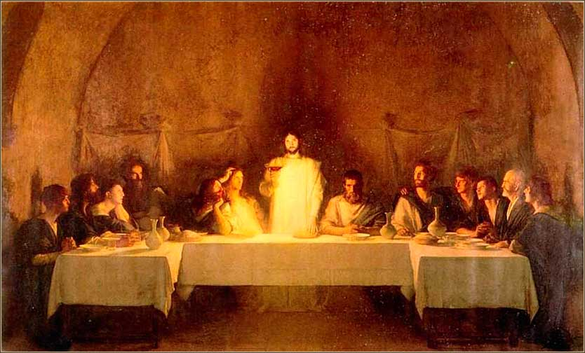 <i>The Last Supper</i>, by Pascal Dagnan-Bouveret, ca. 1896