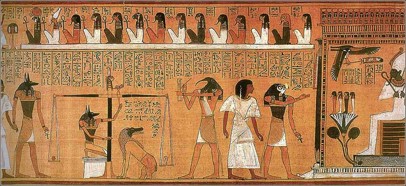 Egyptian gods, Thoth, Book of the Dead