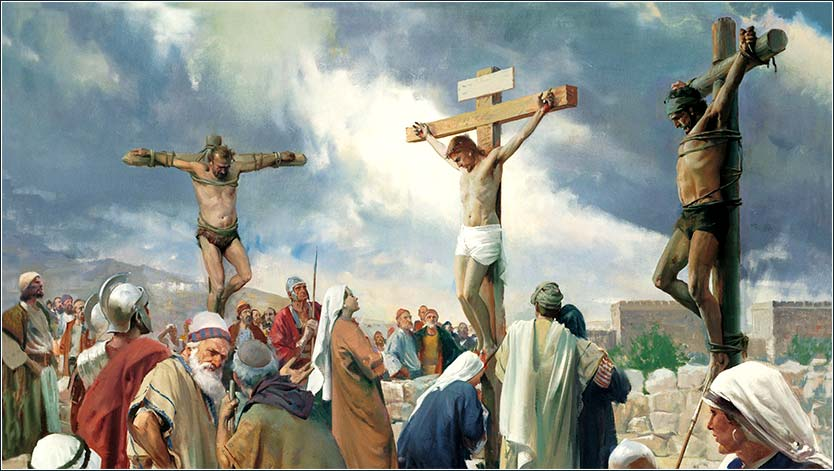 <i>The Crucifixion</i> by James Tissot, ca. 1890.