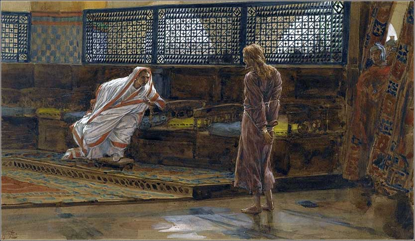 <i>Jesus Before Pilate, First Interview</i> by James Tissot ca. 1886