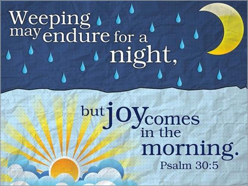 Joy Comes in the Morning | Psalm 30