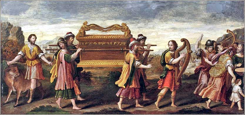 <i>King David Moves the Ark with Singing and Dancing</i>, Italian-Flemish School, ca. 1600.