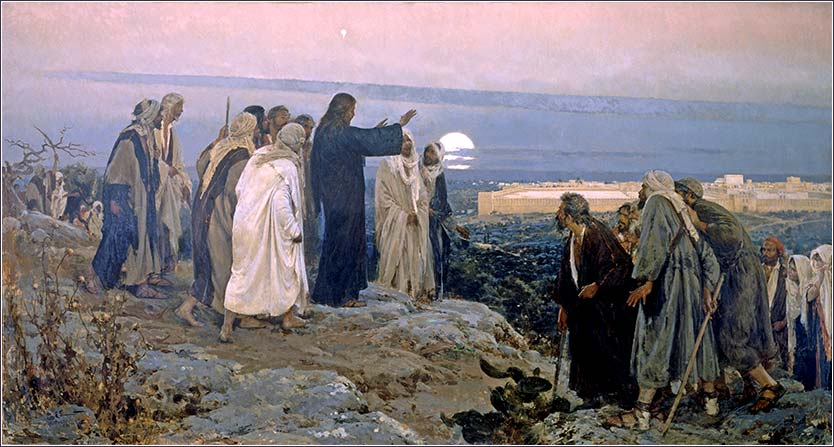 <i>Flevit Super Illam (He wept over it)</i>, by Enrique Simonet, 1892.
