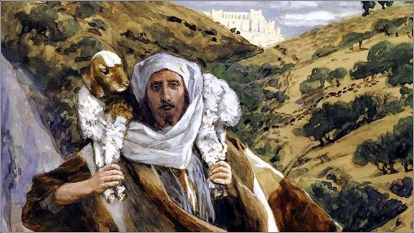 <i>Jesus the Shepherd</i>, by James Tissot, ca. 1886.