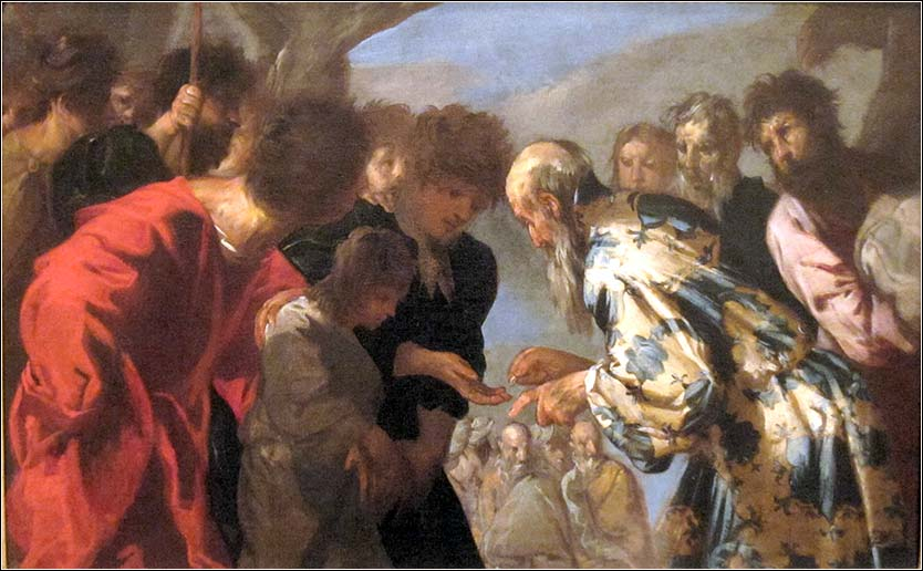 <i>Joseph Sold by His Brothers</i>, by Francesco Maffei, ca. 1657-58.