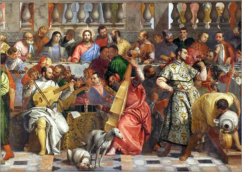 <i>The Wedding at Cana</i>, by Paolo Veronese, ca. 1563.