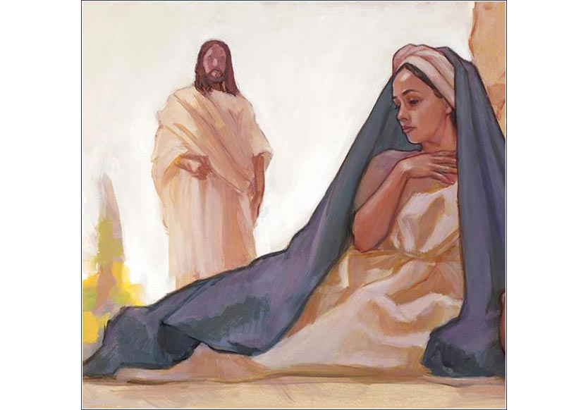<i>He Is Risen,</i> by Rose Datoc Dall, contemporary.