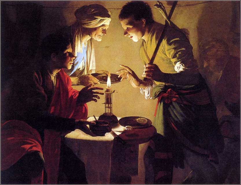 <i>Esau Selling His Birthright</i>, by Hendrick ter Brugghen, ca. 1627.