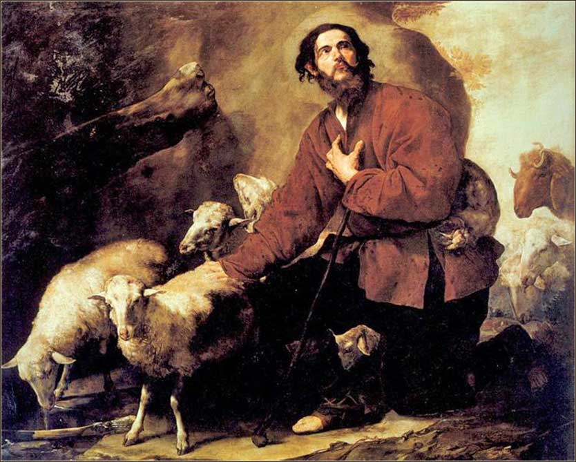 <i>Jacob with Laban's Flock</i>, by Jusepe de Ribera, ca. 1630