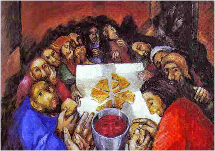 <i>The Last Supper,</i> by Sieger Koeder, ca. 1980