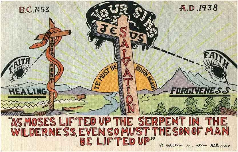 <i>As Moses Lifted Up the Serpent</i>
