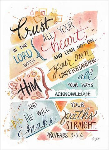 Trust in the Lord | Proverbs 3:5