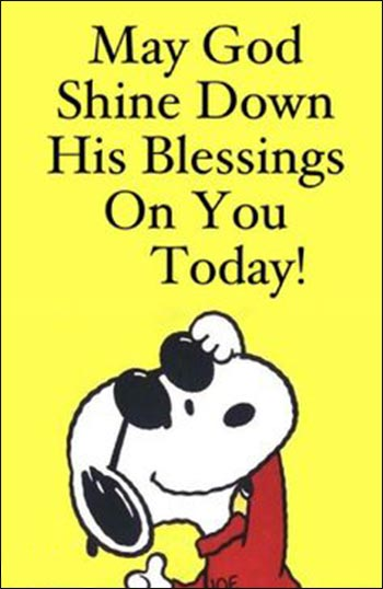 Snoopy blessings